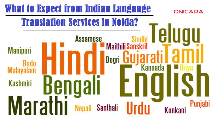 Indian language translation services in Noida