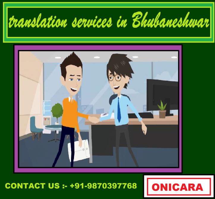 translation services in Bhubaneshwar