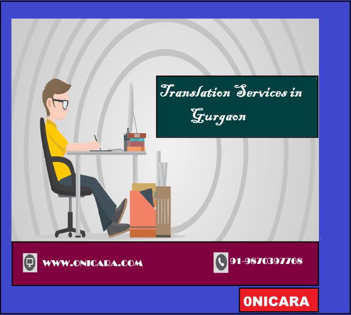TRANSLATION SERVICES IN GURGAON