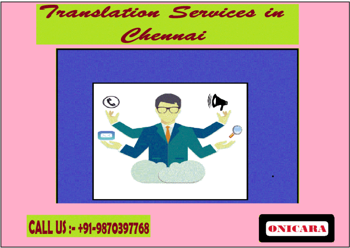 TRANSLATIONS SERVICES IN CHENNAI
