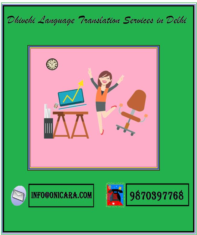 dhivehi language services