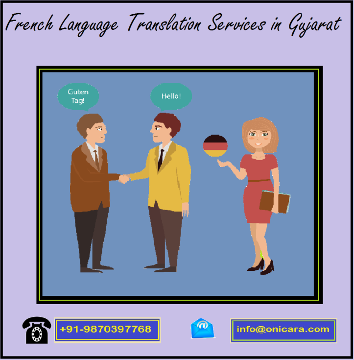 French Language Translation Services in gujrat