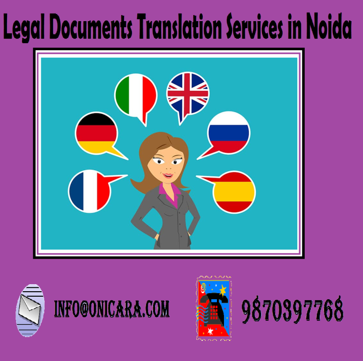 legal document translation in noida