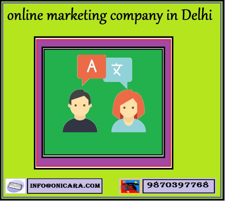 online marketing company in Noida