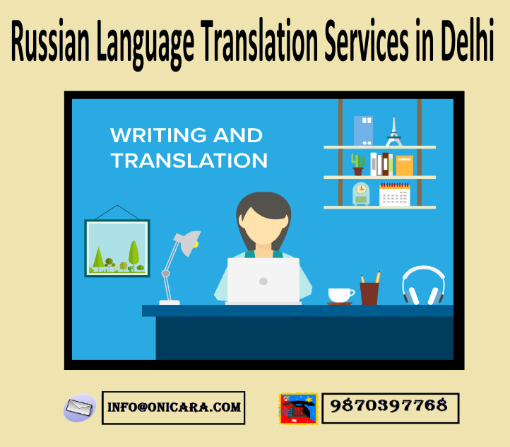 Russian Language Translation Services in Delhi