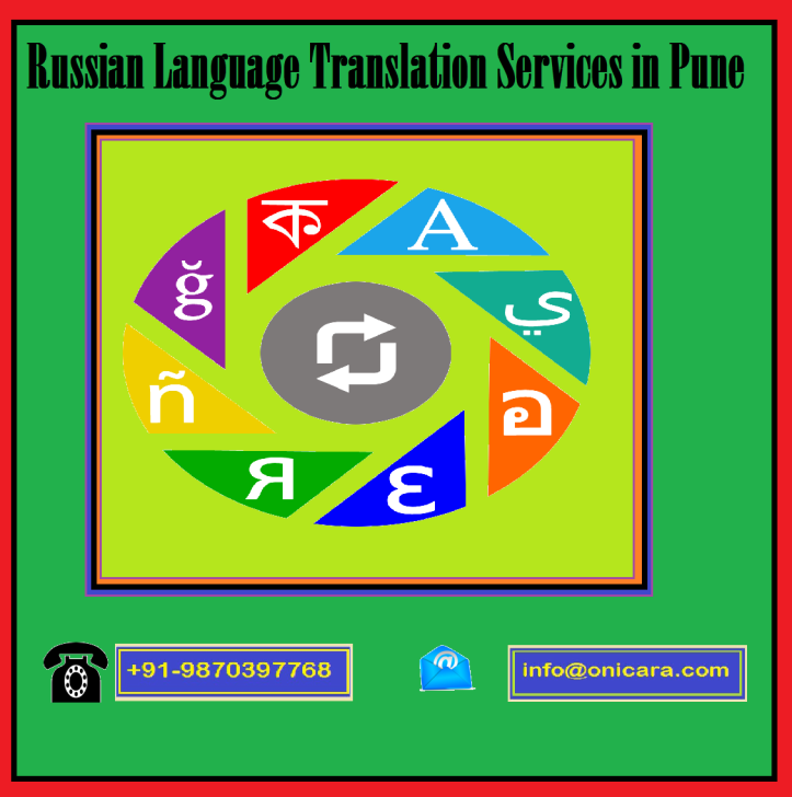 Russian Language Translation Services in Pune