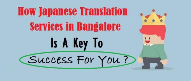Japanese Language Translation Services in Bangalore