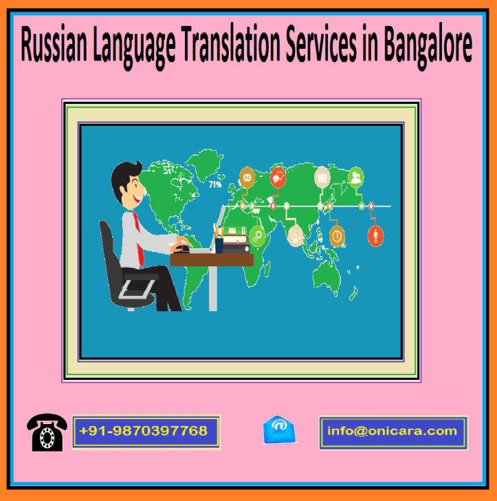 Russian Language Translation Services in Bangalore